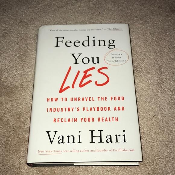 Feeding You Lies book